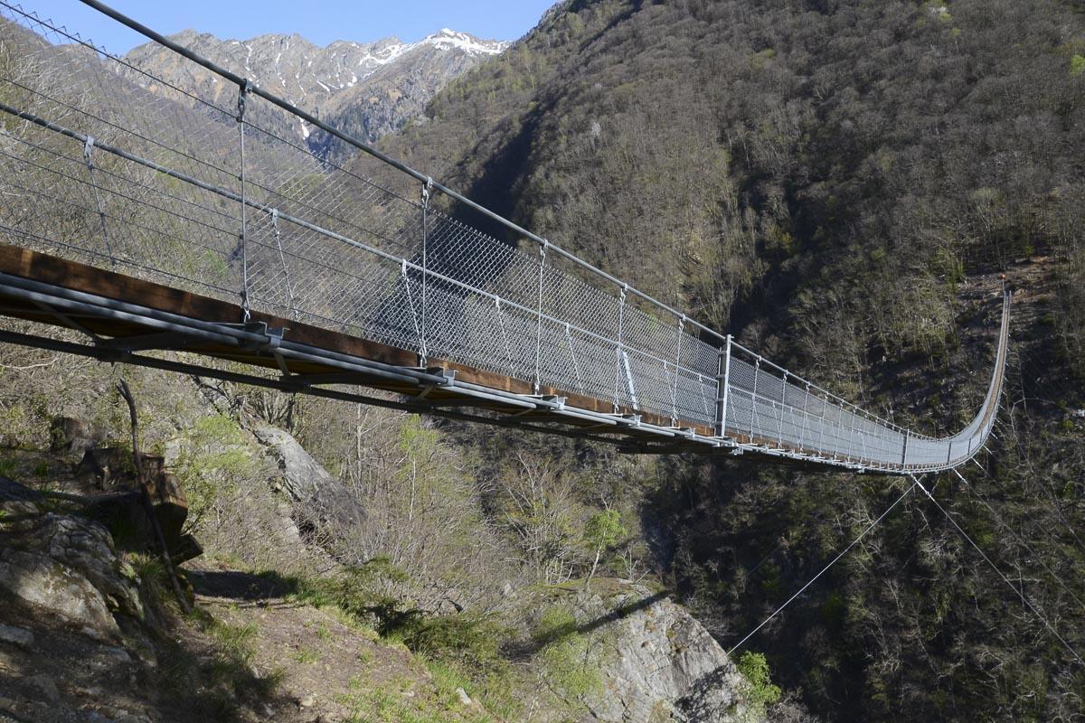 Die längste Hängebrücke der Schweiz | Reisen Blog