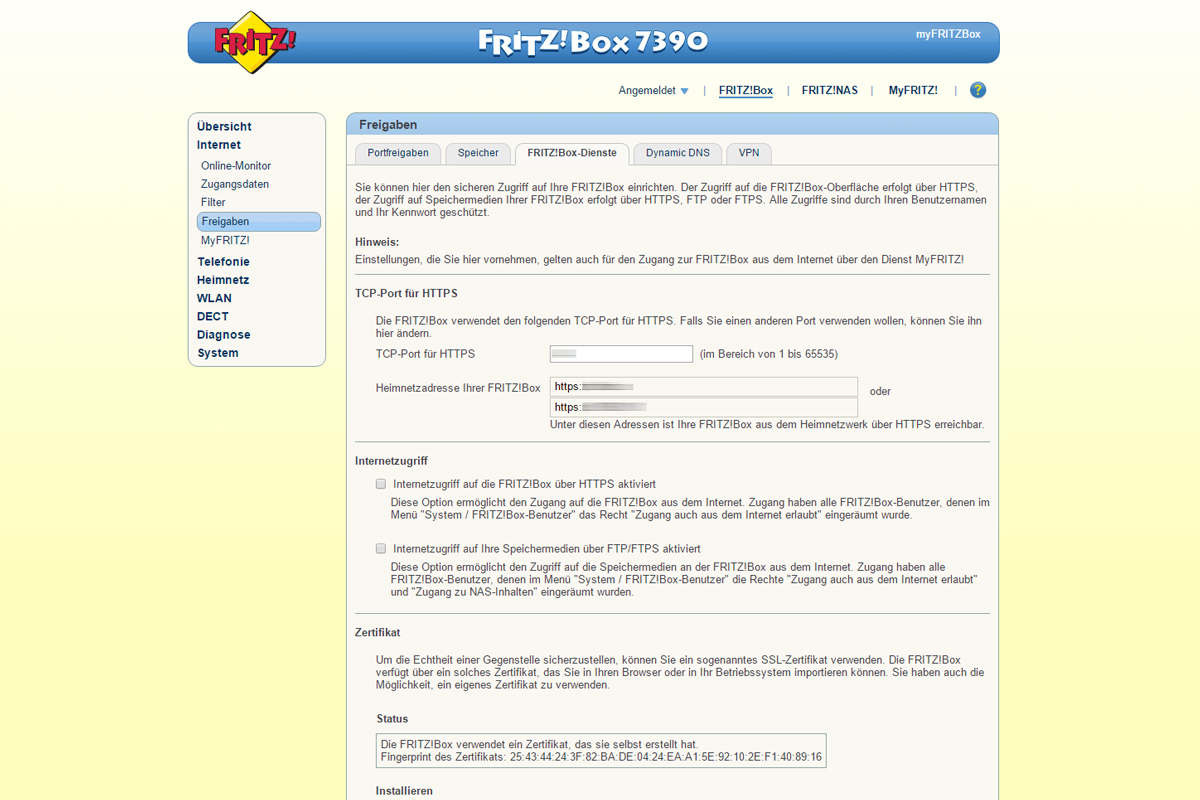 Erfahrungsbericht Synology VPN L2TP/IPSec, AVM Fritz!Box | Reisen Blog